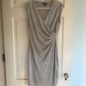 Lauren Ralph Lauren Dresses - Ralph Lauren Metallic Cocktail Dress Holiday